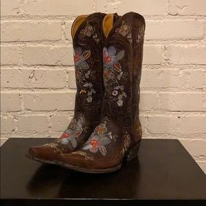 Old Gringo Chocolate Floral Bonnie Boot